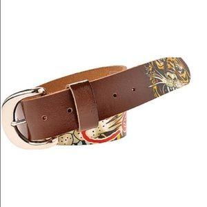[Ed Hardy] Printed Tiger Belt